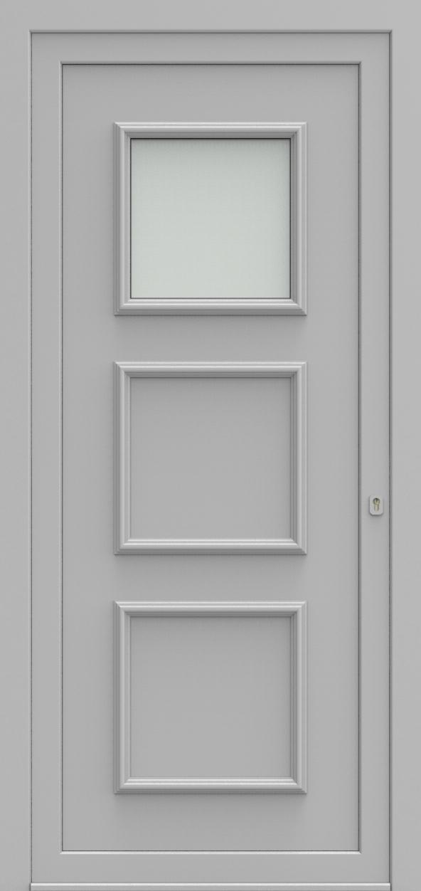 Porte d'entrée 102210 DOREA de la gamme Alufix posée par les établissements CELEREAU à Roncq