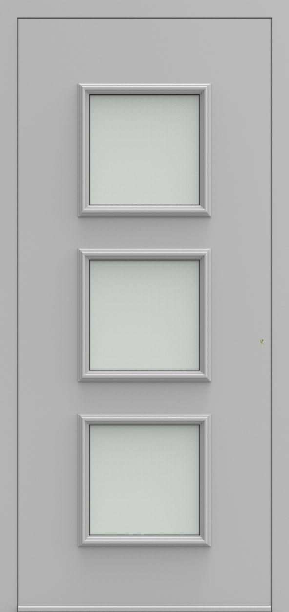 Porte d'entrée 102230 DOREA de la gamme Alufix posée par les établissements CELEREAU à Roncq