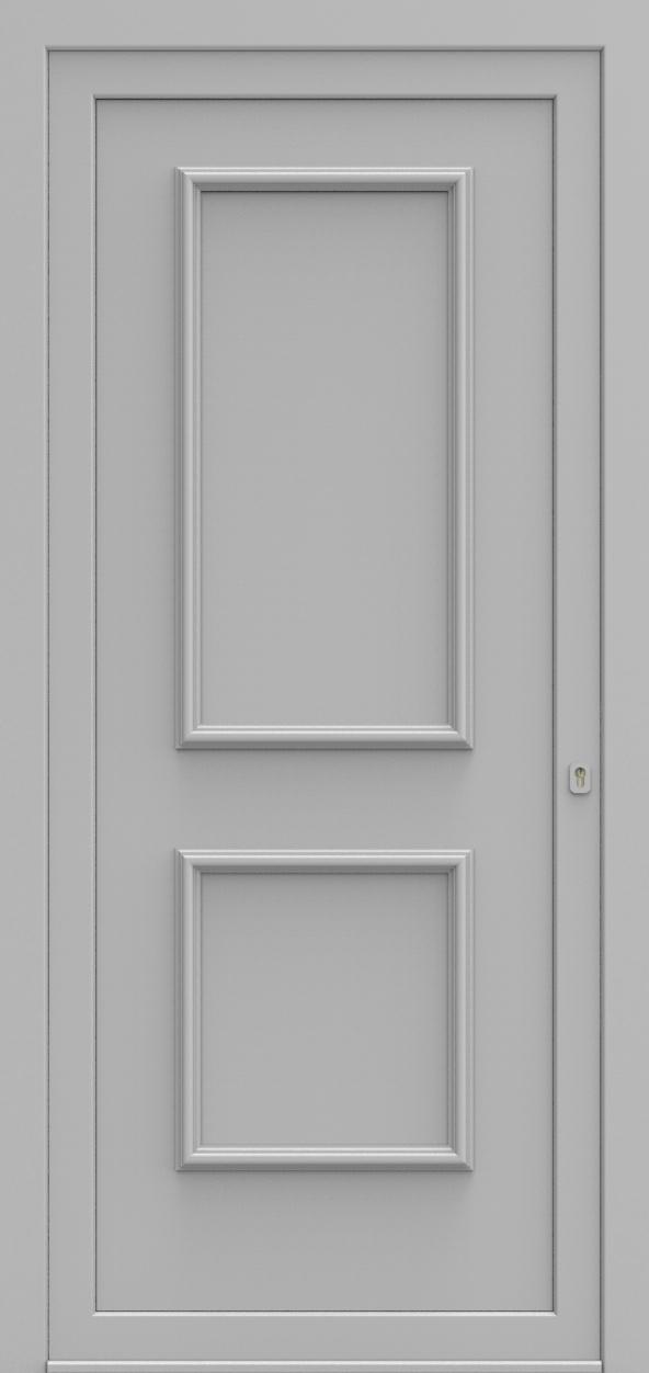 Porte d'entrée 103200 BILBAO de la gamme Alufix posée par les établissements CELEREAU à Roncq