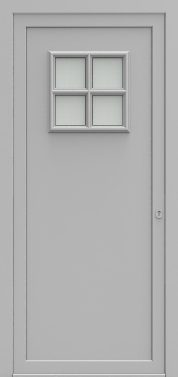 Porte d'entrée 104110 ANDORRA de la gamme Alufix posée par les établissements CELEREAU à Roncq