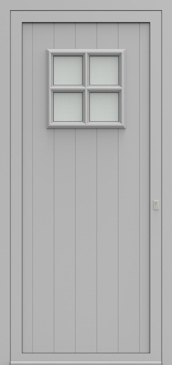 Porte d'entrée 104210 LIECHTENSTEIN de la gamme Alufix posée par les établissements CELEREAU à Roncq
