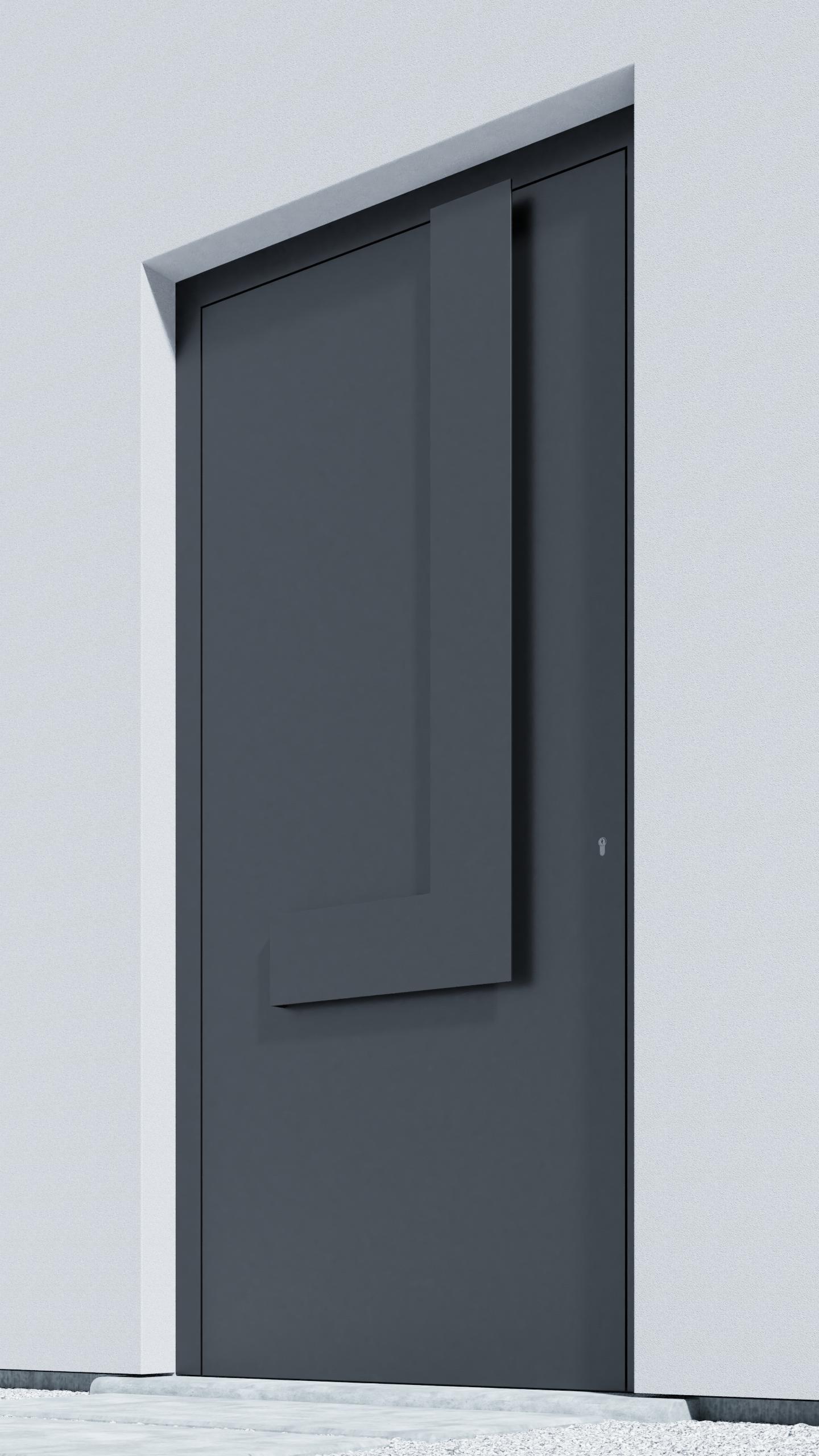 Porte d'entrée BH031Z Stam de la gamme Bauhaus posée par les établissements CELEREAU à Roncq