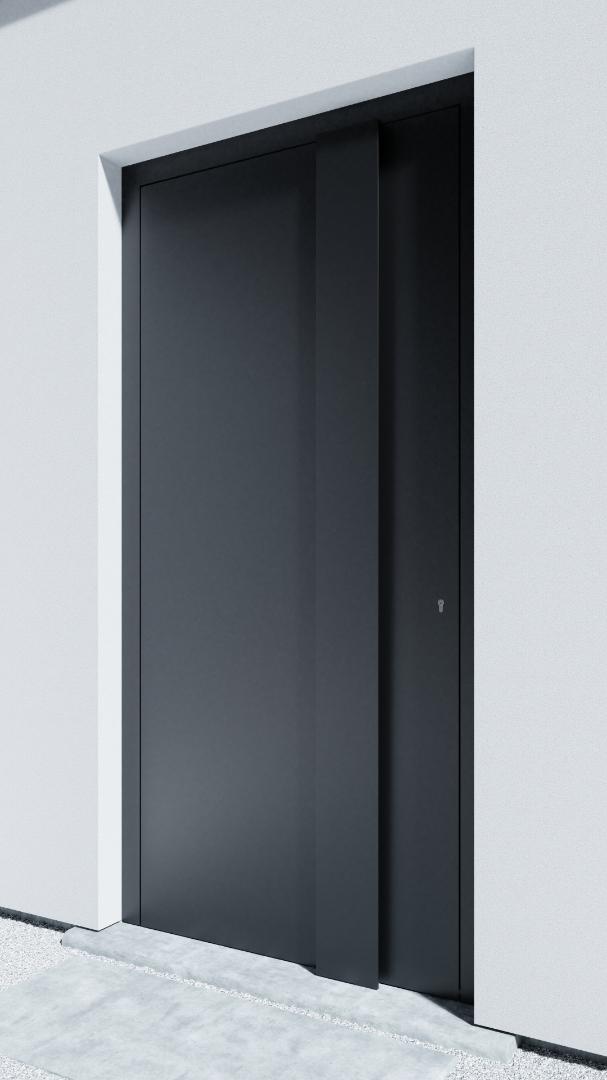 Porte d'entrée BH071Z Gropius de la gamme Bauhaus posée par les établissements CELEREAU à Roncq