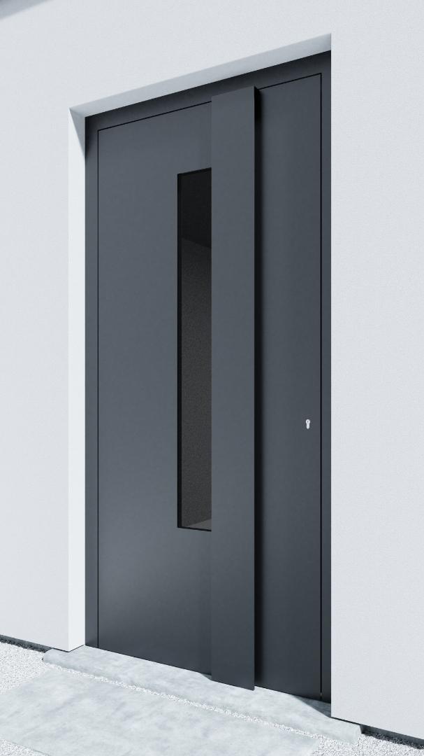Porte d'entrée BH081Z Rohe de la gamme Bauhaus posée par les établissements CELEREAU à Roncq
