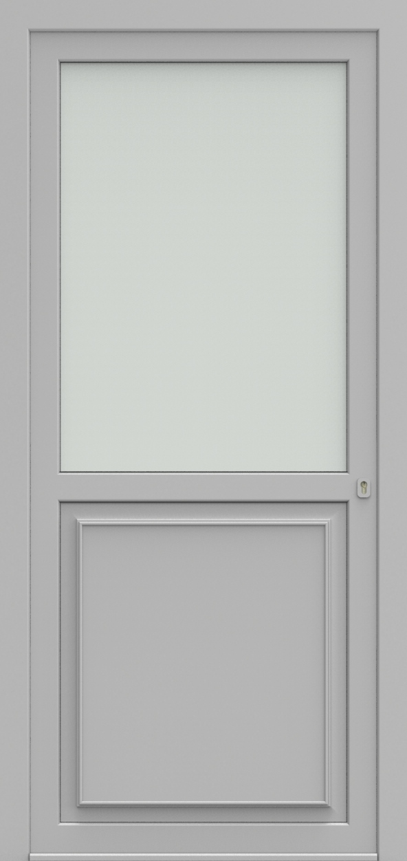 Porte d'entrée K 1/2 DIAMANT de la gamme Classics posée par les établissements CELEREAU à Roncq