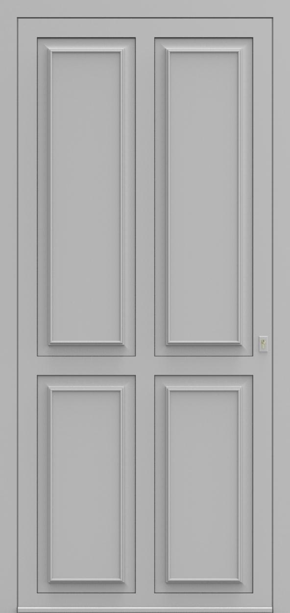 Porte d'entrée K 4 DIAMANT de la gamme Classics posée par les établissements CELEREAU à Roncq