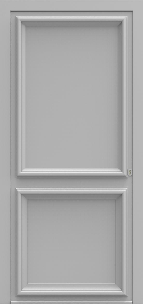 Porte d'entrée K 2 EVOLUTION de la gamme Classics posée par les établissements CELEREAU à Roncq