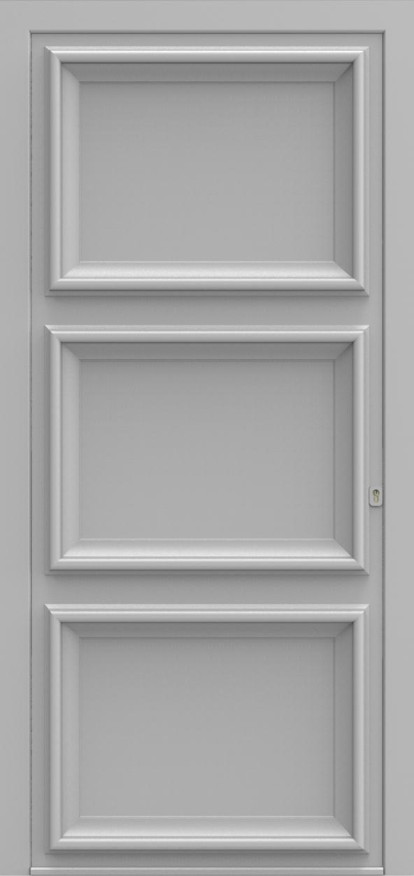 Porte d'entrée K 3 EVOLUTION de la gamme Classics posée par les établissements CELEREAU à Roncq