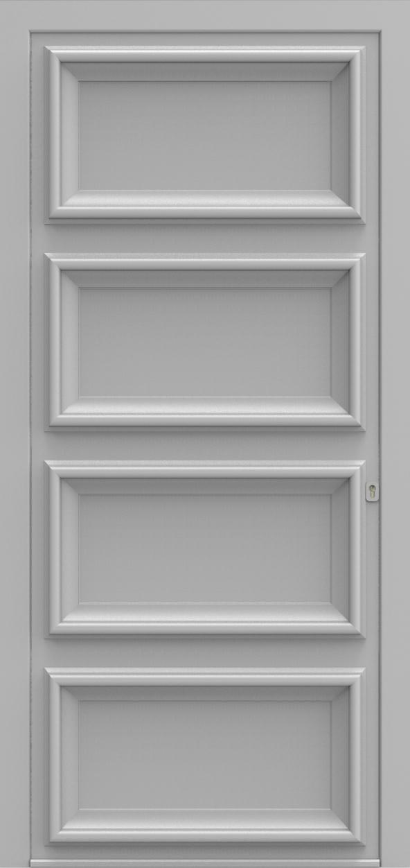 Porte d'entrée K 4 EVOLUTION de la gamme Classics posée par les établissements CELEREAU à Roncq