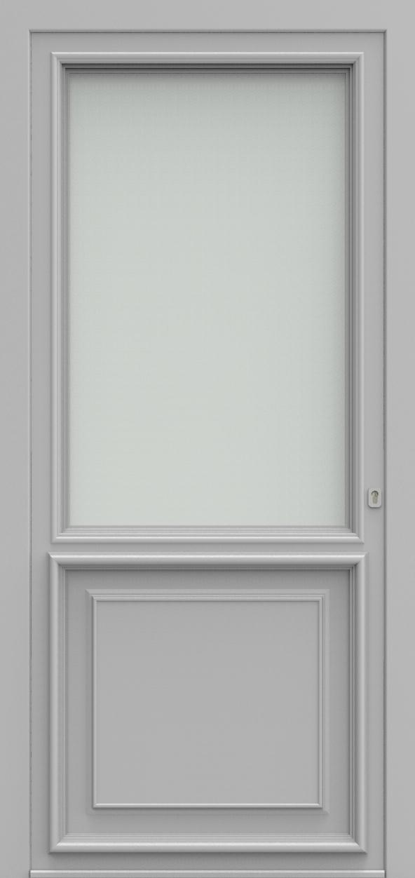 Porte d'entrée K 2 V1 EXPANSION de la gamme Classics posée par les établissements CELEREAU à Roncq