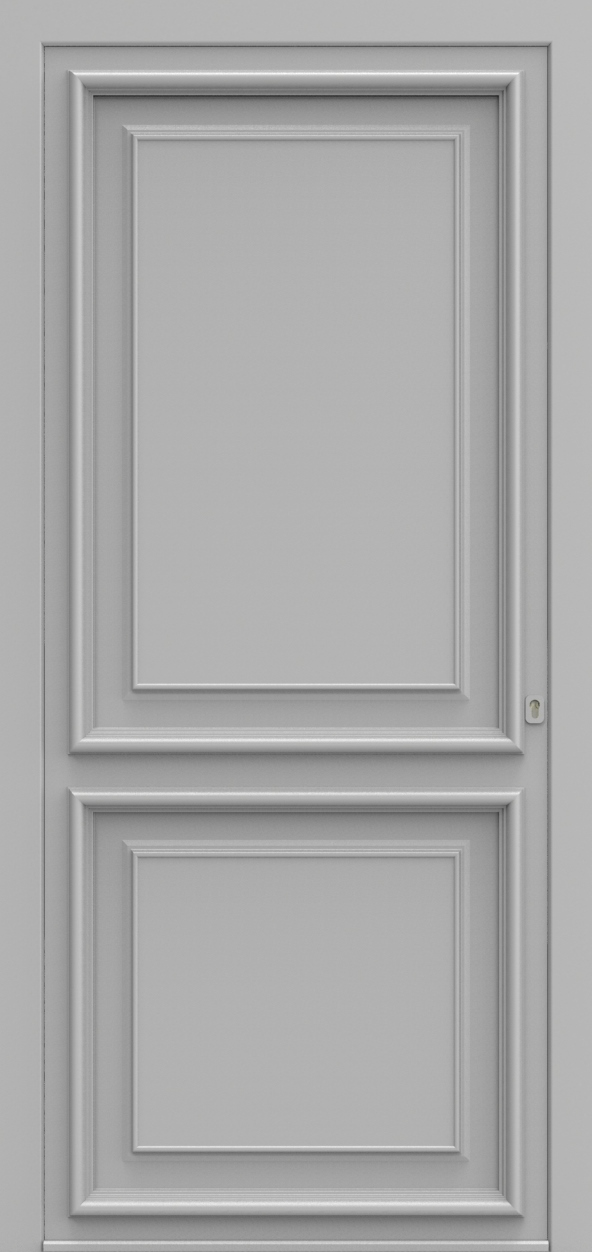 Porte d'entrée K 2 EXPANSION de la gamme Classics posée par les établissements CELEREAU à Roncq