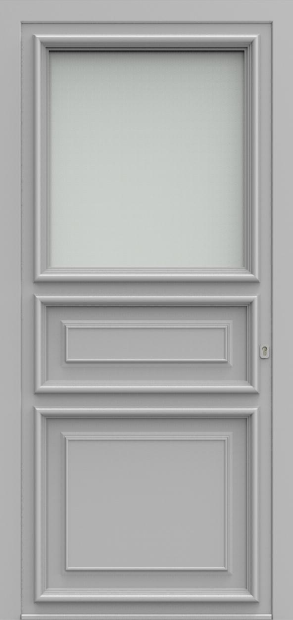 Porte d'entrée K 3 V1 EXPANSION de la gamme Classics posée par les établissements CELEREAU à Roncq