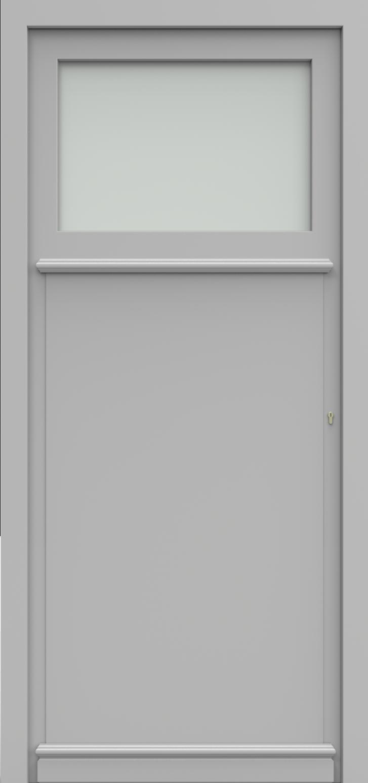 Porte d'entrée SATIE 3/4 de la gamme Classics posée par les établissements CELEREAU à Roncq