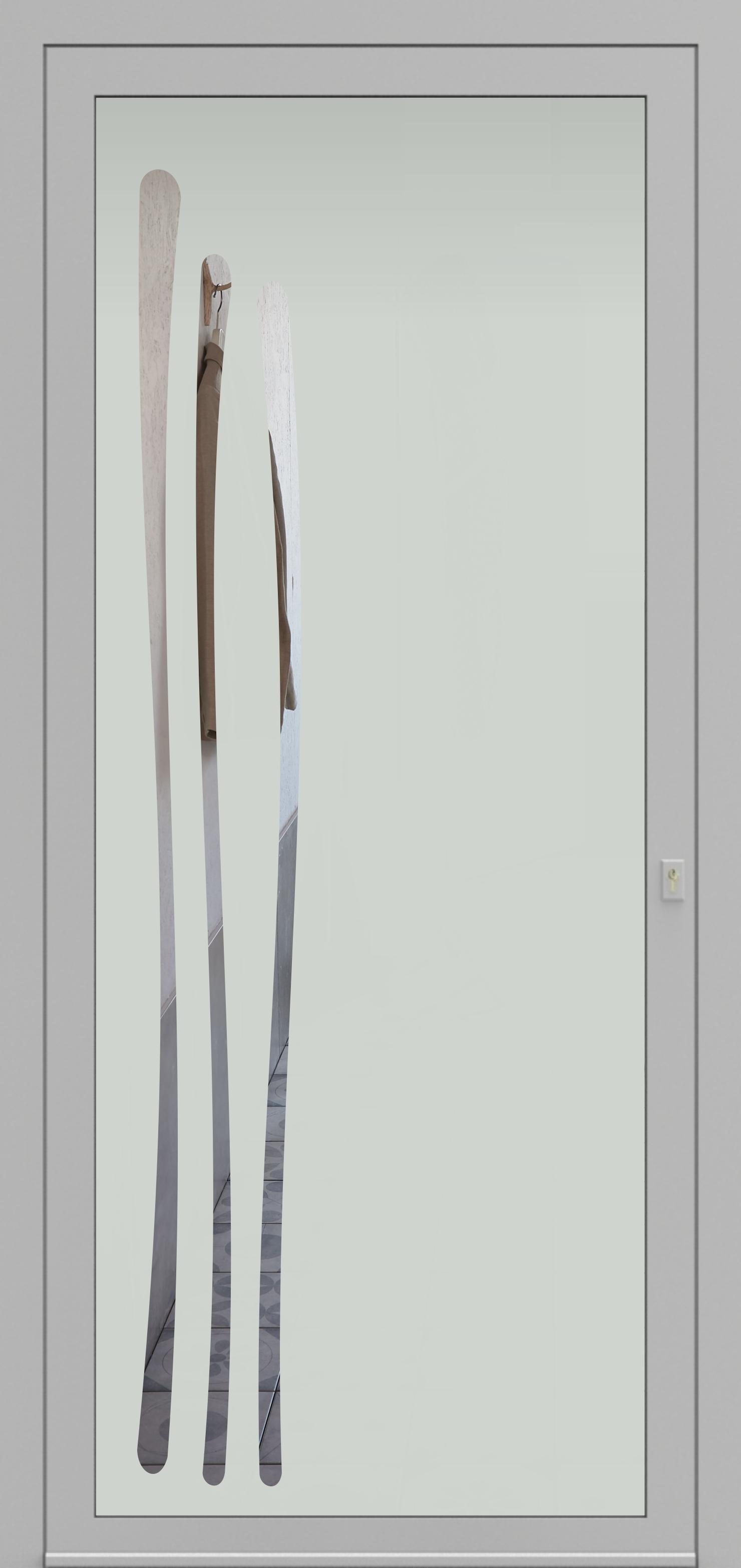 Porte d'entrée DECOVER 2/01 de la gamme Decover posée par les établissements CELEREAU à Roncq