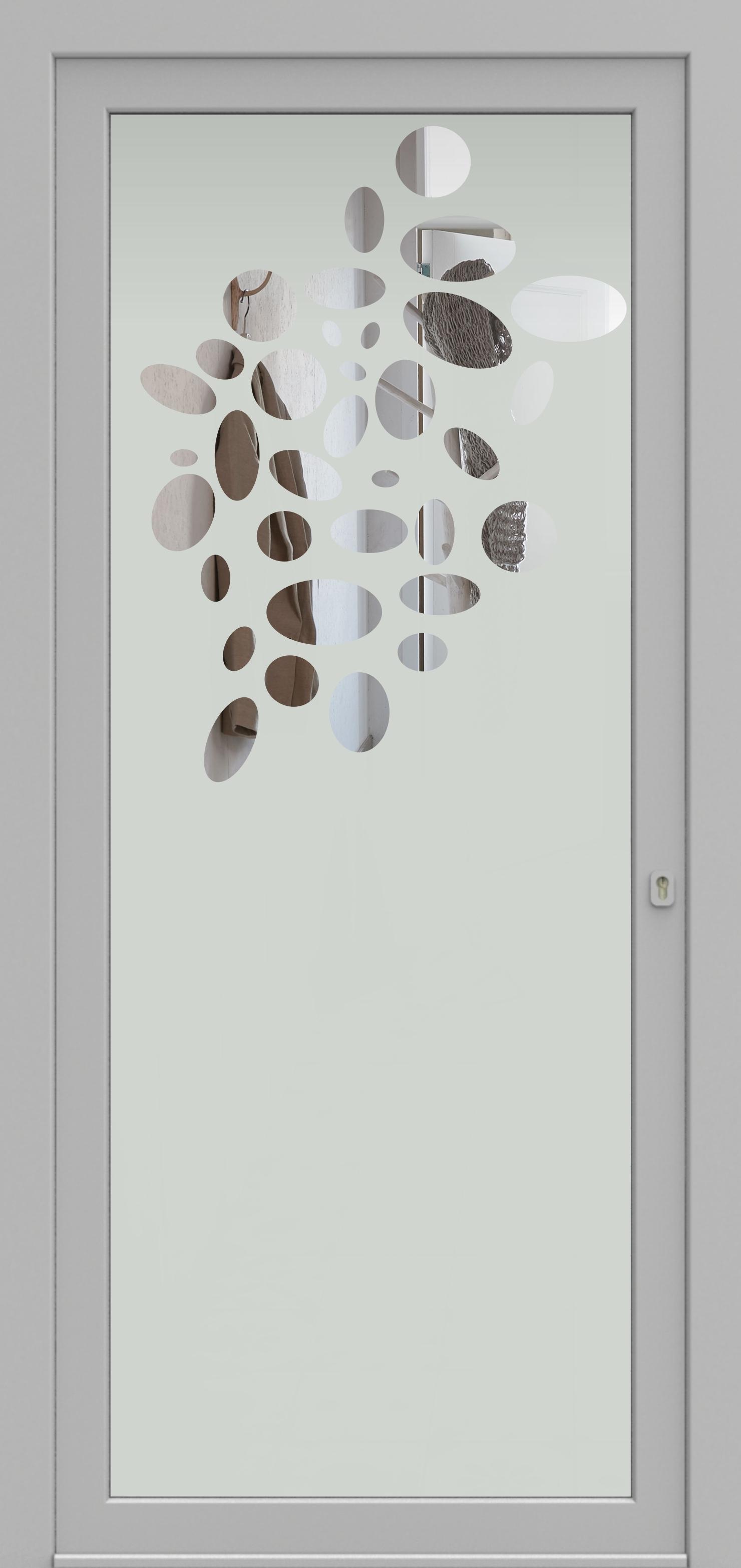 Porte d'entrée DECOVER 2/02 de la gamme Decover posée par les établissements CELEREAU à Roncq