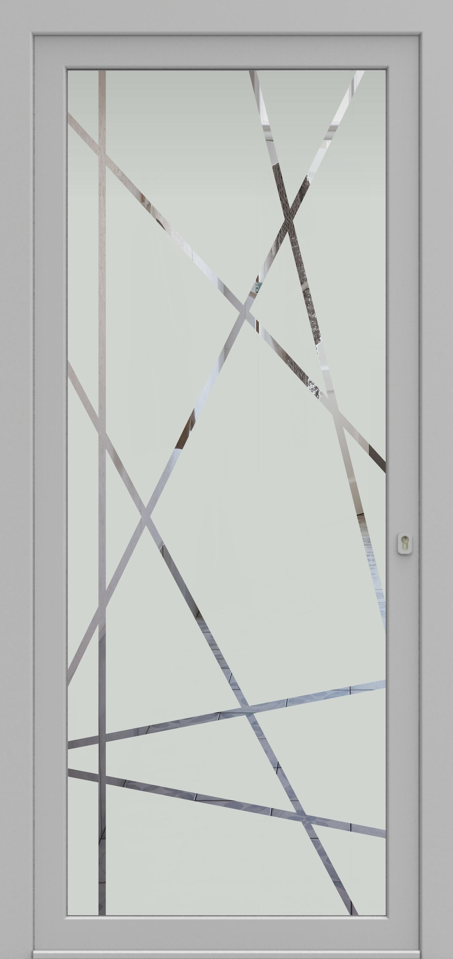 Porte d'entrée DECOVER 2/03 de la gamme Decover posée par les établissements CELEREAU à Roncq