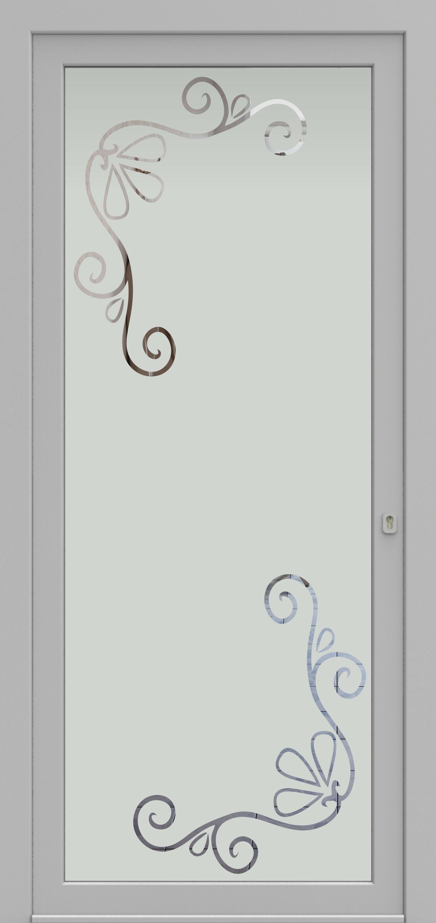 Porte d'entrée DECOVER 2/09 de la gamme Decover posée par les établissements CELEREAU à Roncq