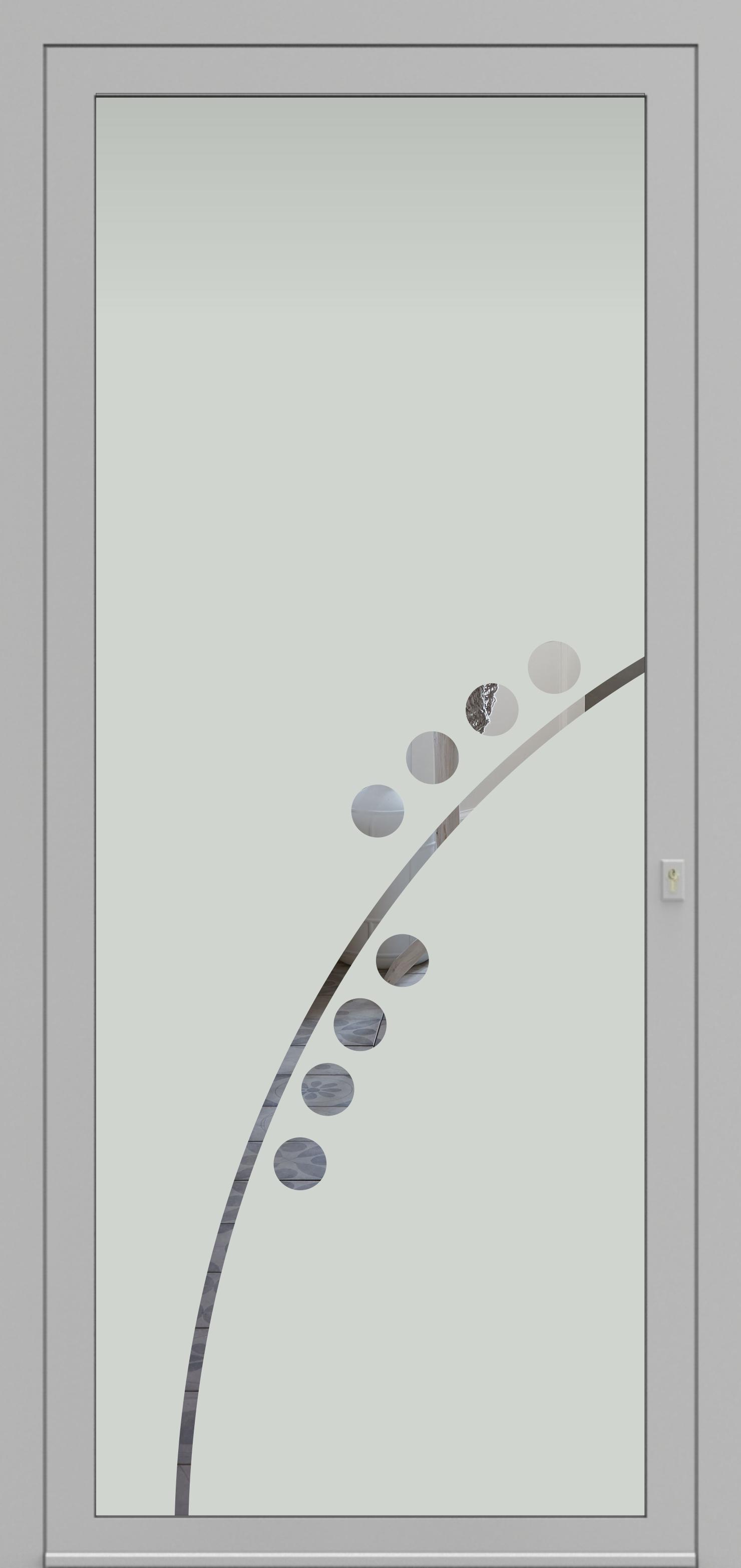 Porte d'entrée DECOVER 2/13 de la gamme Decover posée par les établissements CELEREAU à Roncq