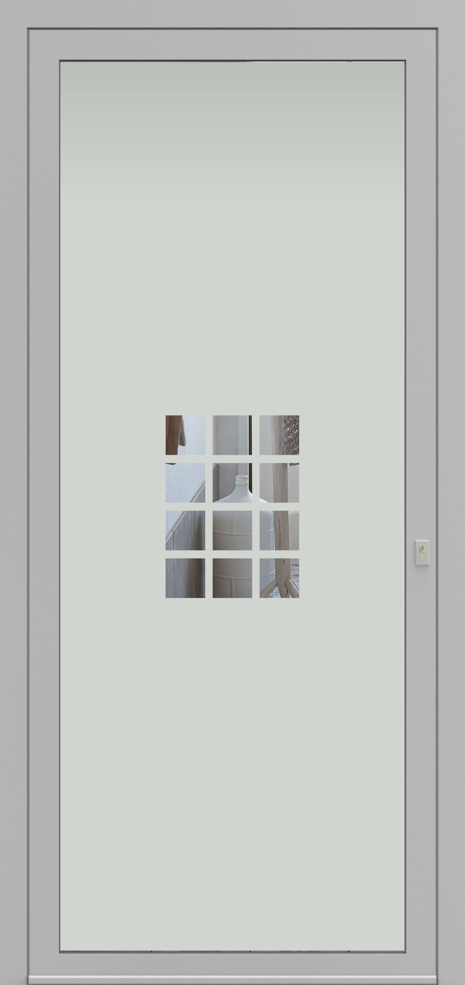 Porte d'entrée DECOVER 2/14 de la gamme Decover posée par les établissements CELEREAU à Roncq