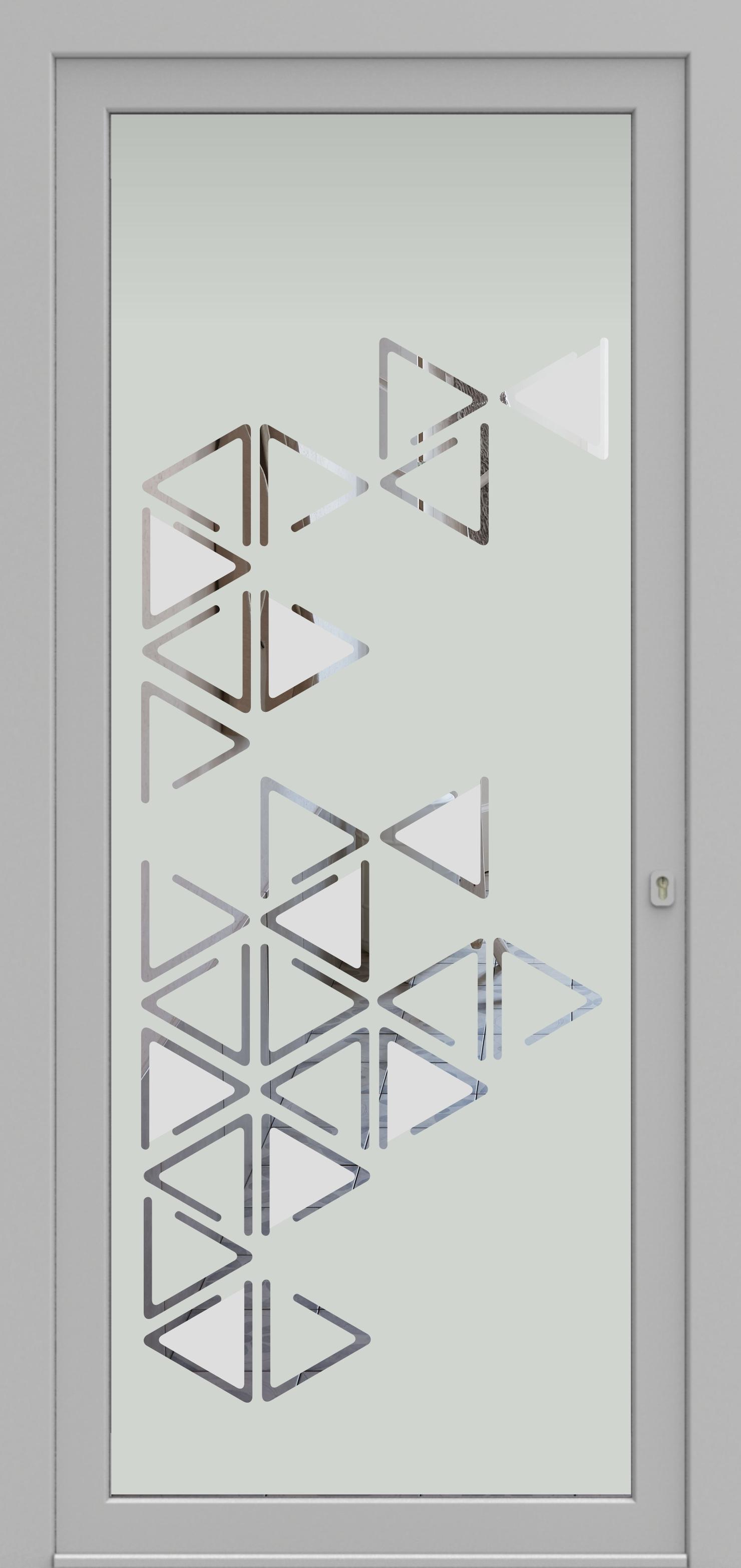 Porte d'entrée DECOVER 3/03 de la gamme Decover posée par les établissements CELEREAU à Roncq