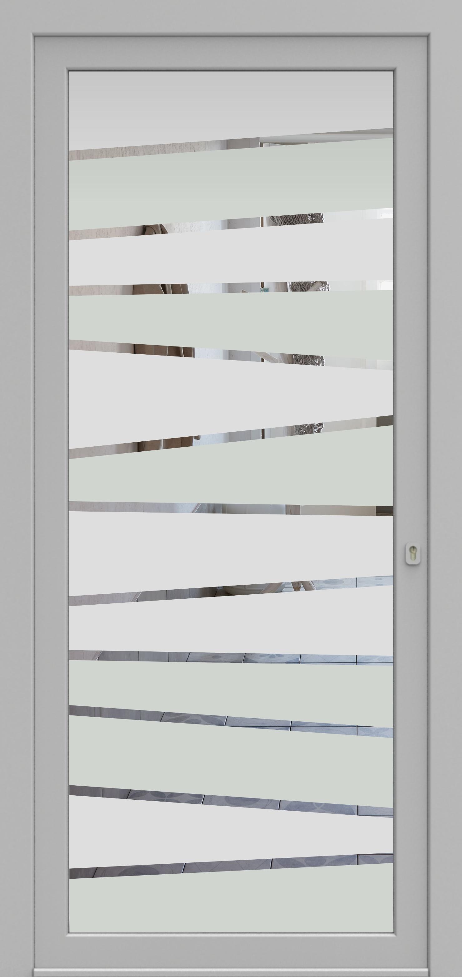 Porte d'entrée DECOVER 3/04 de la gamme Decover posée par les établissements CELEREAU à Roncq