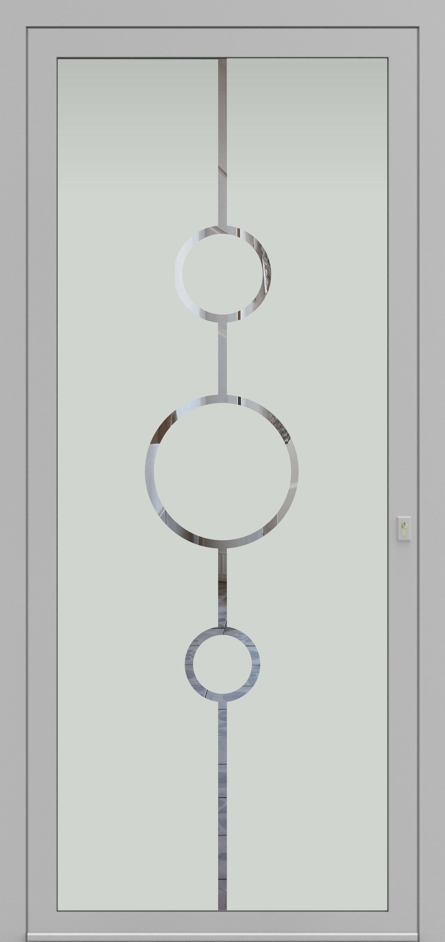 Porte d'entrée DECOVER 3/07 de la gamme Decover posée par les établissements CELEREAU à Roncq