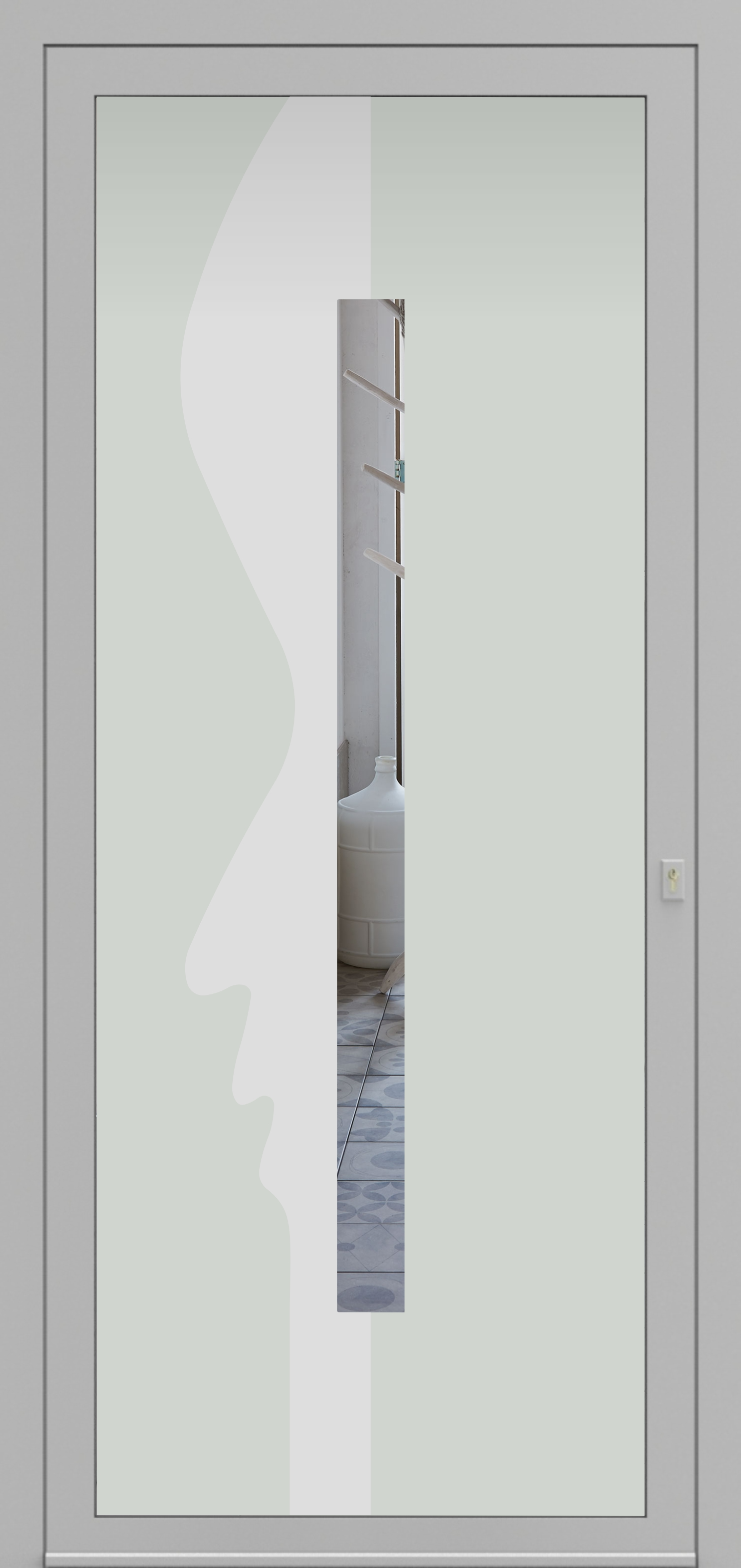 Porte d'entrée DECOVER 3/09 de la gamme Decover posée par les établissements CELEREAU à Roncq