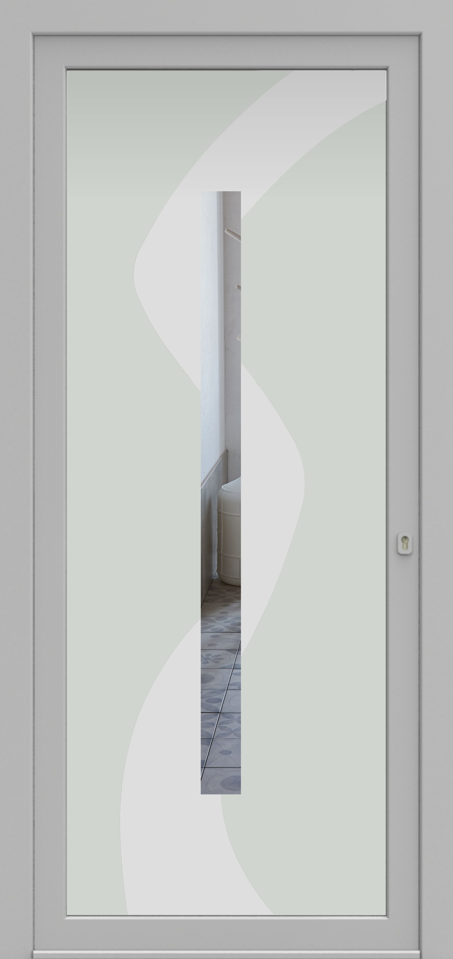 Porte d'entrée DECOVER 3/11 de la gamme Decover posée par les établissements CELEREAU à Roncq