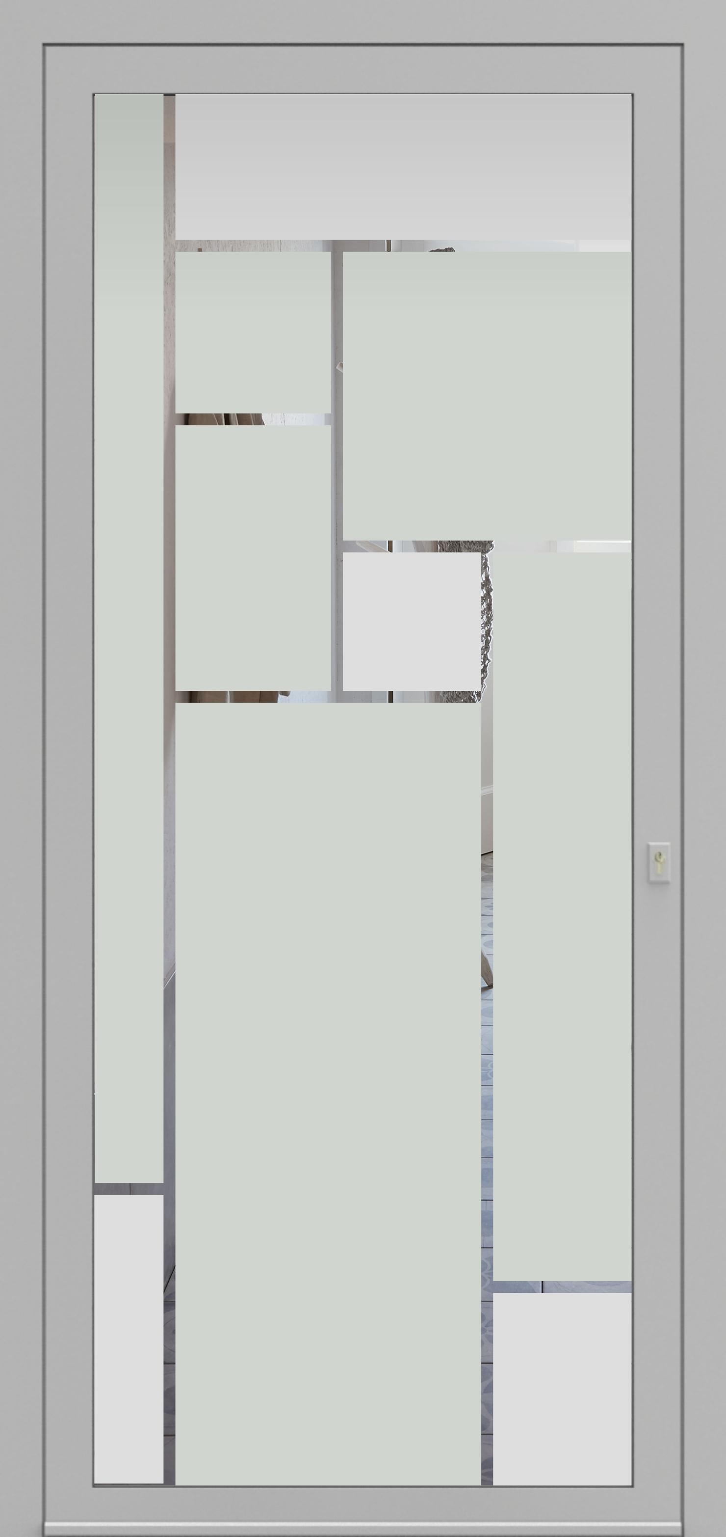 Porte d'entrée DECOVER 3/12 de la gamme Decover posée par les établissements CELEREAU à Roncq