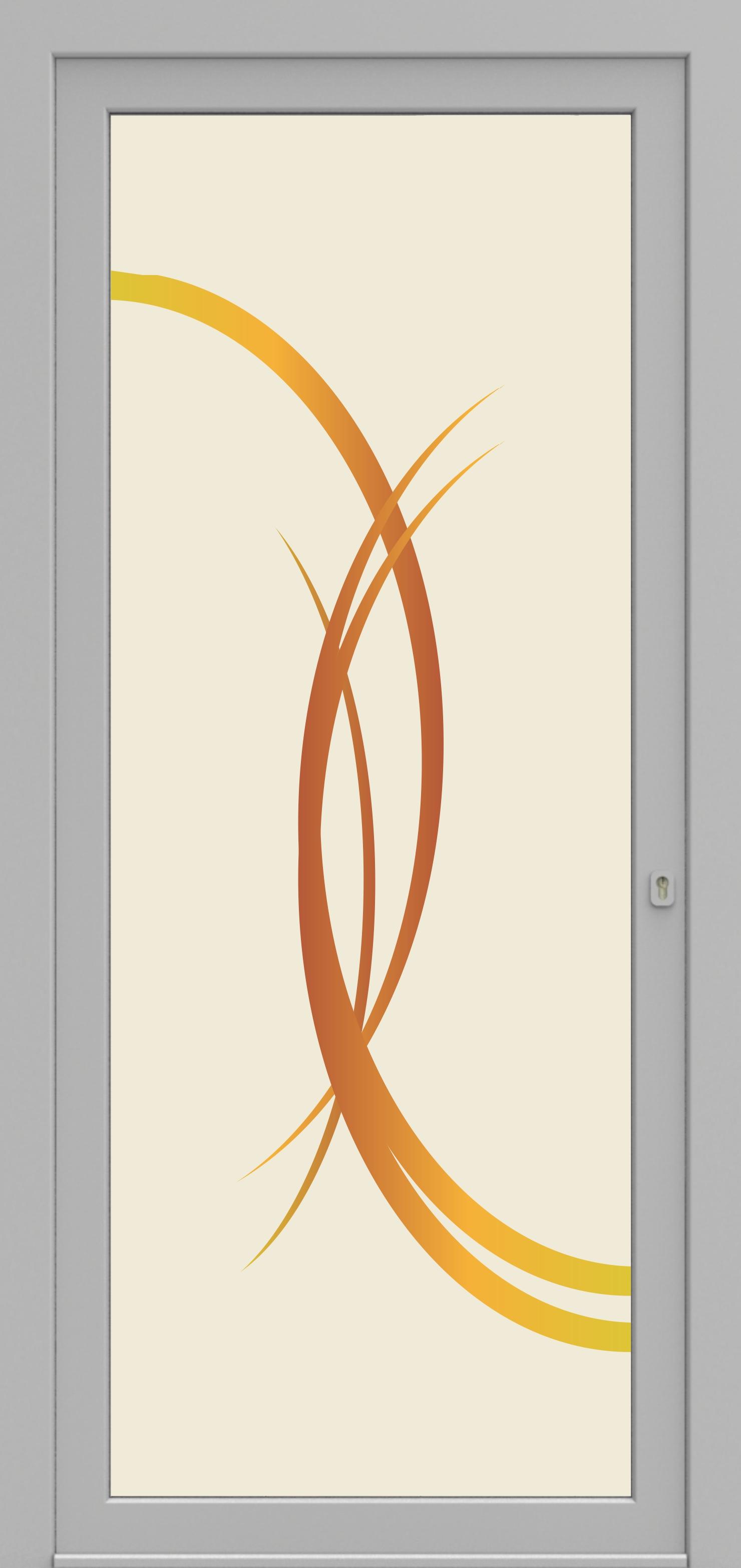 Porte d'entrée 01 Printdecor de la gamme Decover posée par les établissements CELEREAU à Roncq