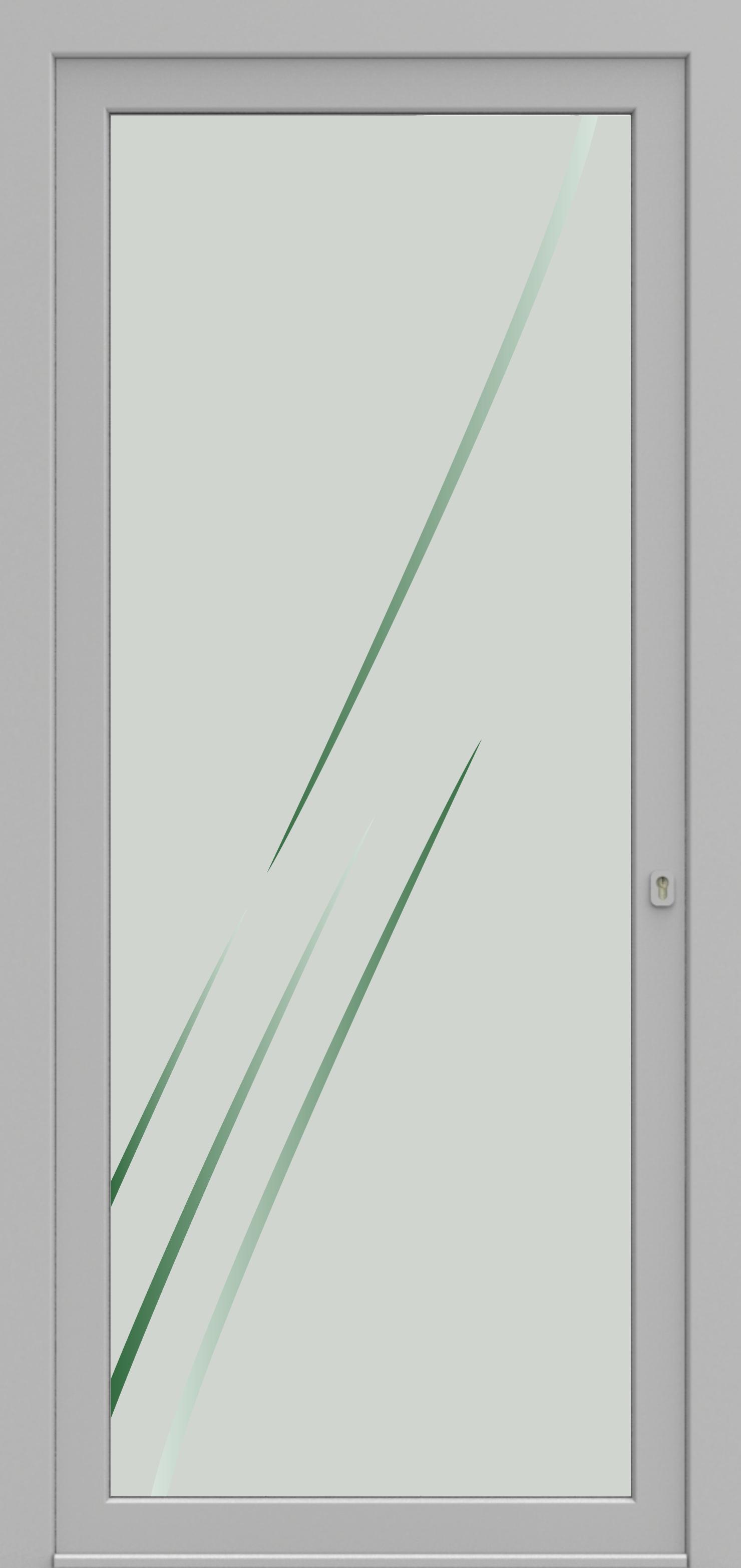 Porte d'entrée 02 Printdecor de la gamme Decover posée par les établissements CELEREAU à Roncq