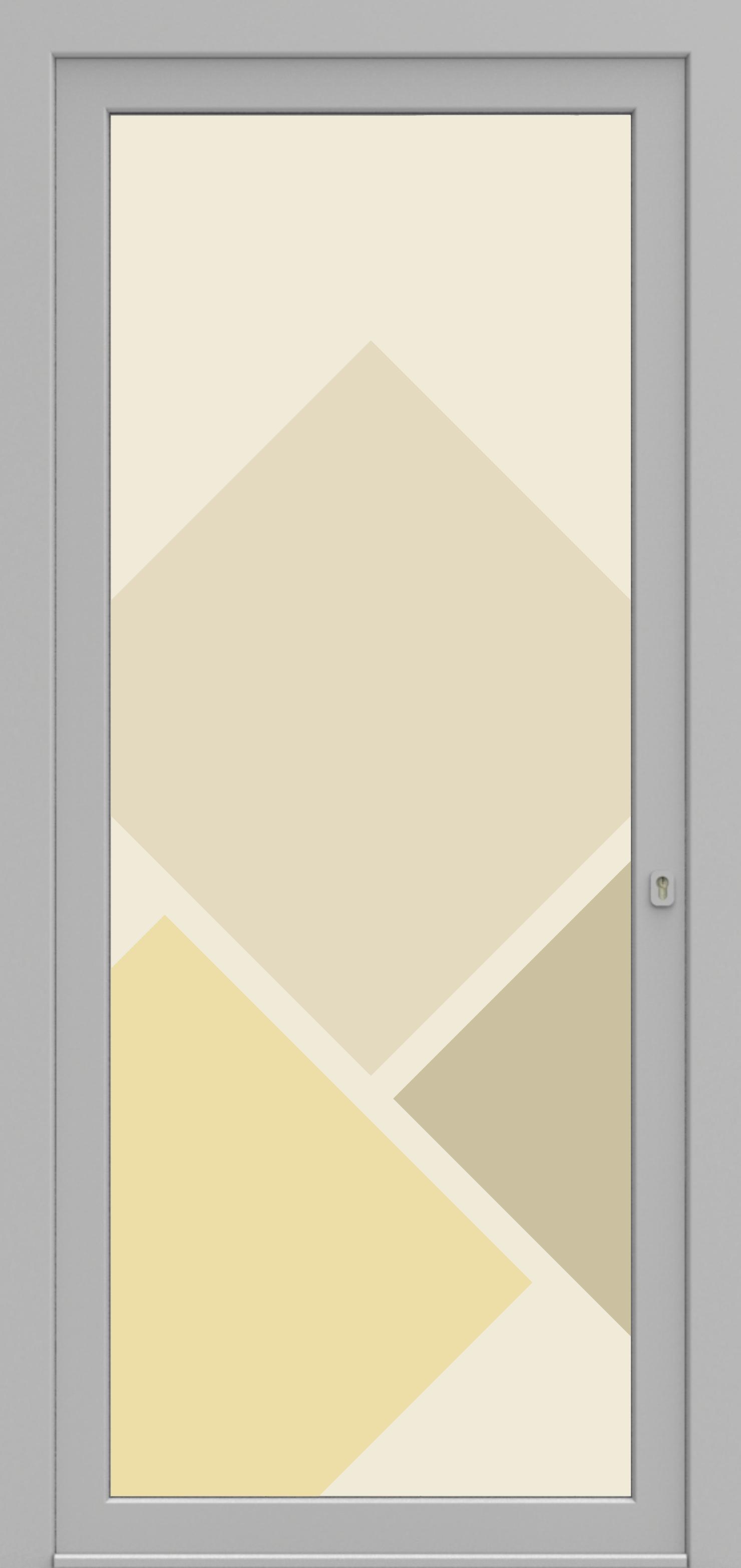 Porte d'entrée 03 Printdecor de la gamme Decover posée par les établissements CELEREAU à Roncq