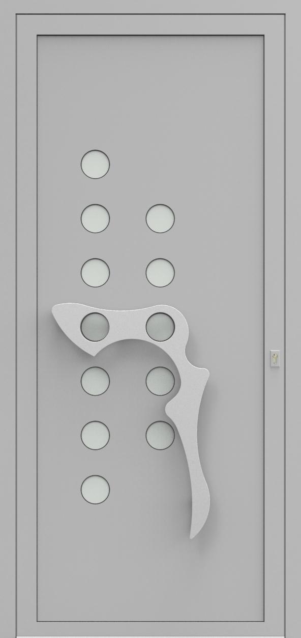 Porte d'entrée IM 11X10 de la gamme Imagine posée par les établissements CELEREAU à Roncq