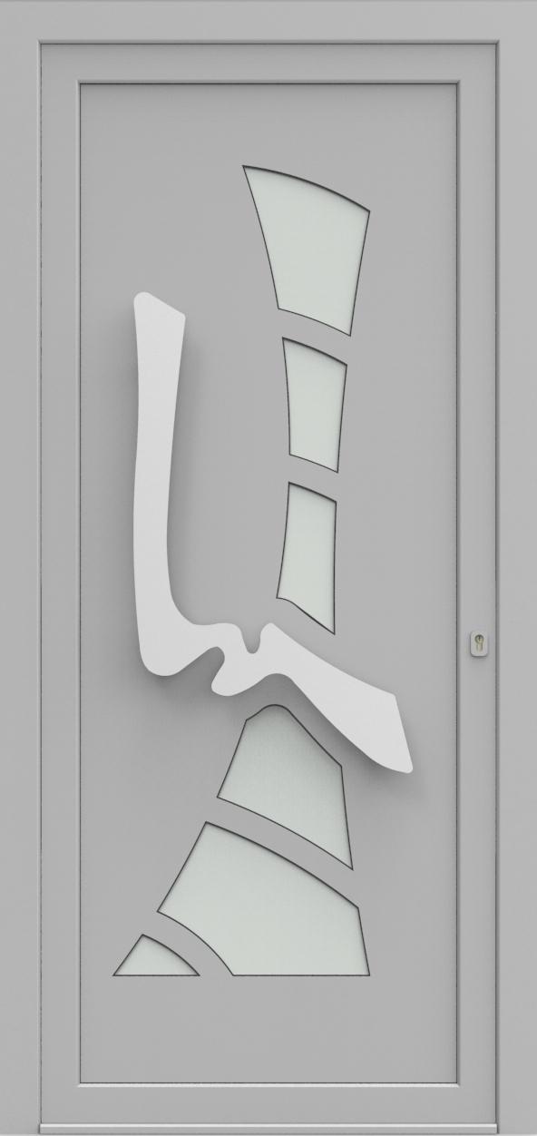 Porte d'entrée IM 1Y20 de la gamme Imagine posée par les établissements CELEREAU à Roncq