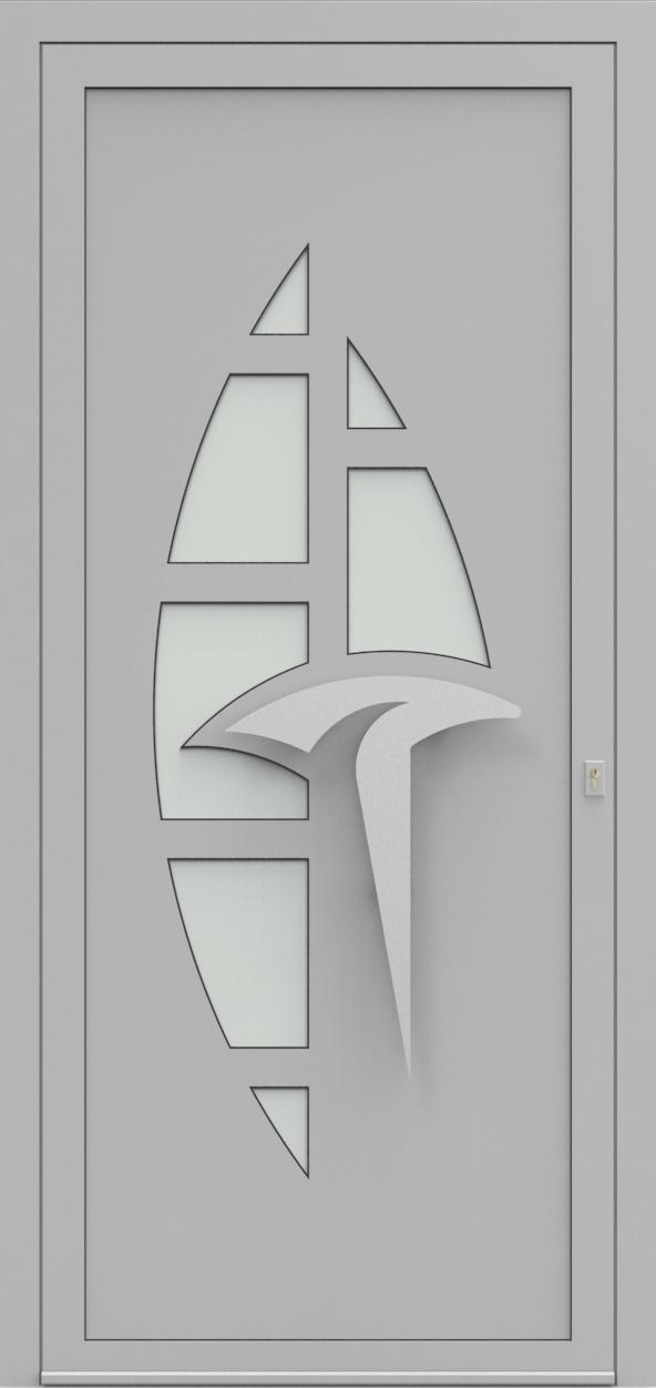 Porte d'entrée IM 2X20S de la gamme Imagine posée par les établissements CELEREAU à Roncq