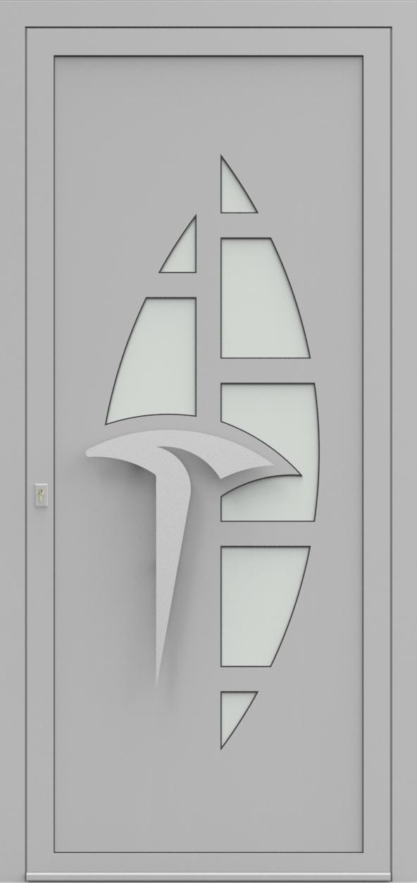 Porte d'entrée IM 2X20 de la gamme Imagine posée par les établissements CELEREAU à Roncq