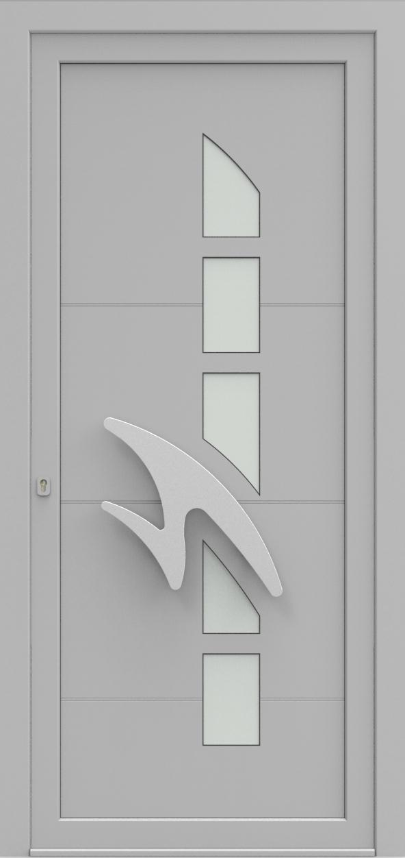 Porte d'entrée IM 6Y20S de la gamme Imagine posée par les établissements CELEREAU à Roncq