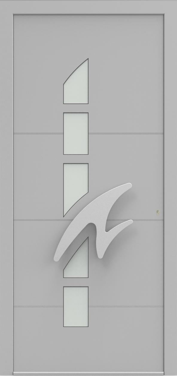 Porte d'entrée IM 6Y20 de la gamme Imagine posée par les établissements CELEREAU à Roncq
