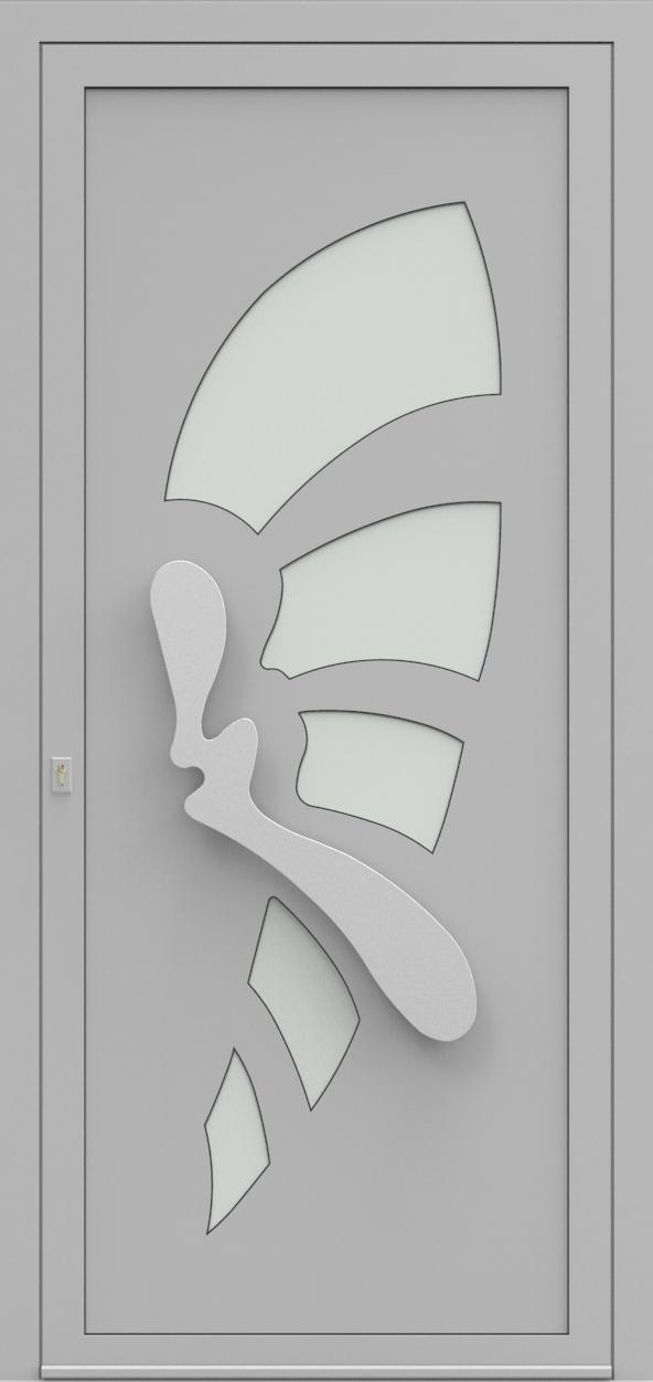 Porte d'entrée IM 9X10 de la gamme Imagine posée par les établissements CELEREAU à Roncq