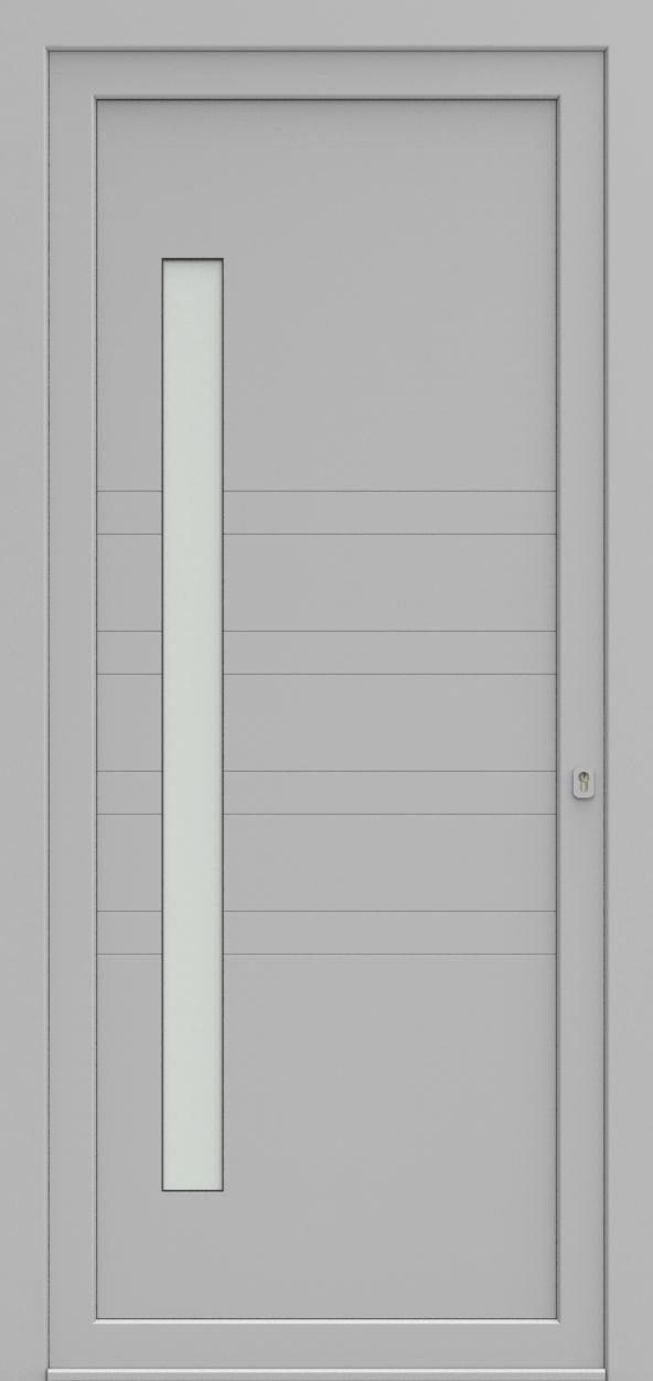 Porte d'entrée EQUILINE 7 de la gamme Light Design posée par les établissements CELEREAU à Roncq