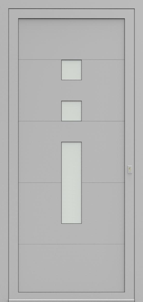 Porte d'entrée 21530 ANGEL de la gamme Light Design posée par les établissements CELEREAU à Roncq