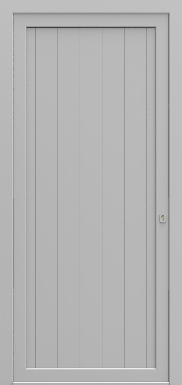 Porte d'entrée 901 NEW YORK de la gamme Light Design posée par les établissements CELEREAU à Roncq