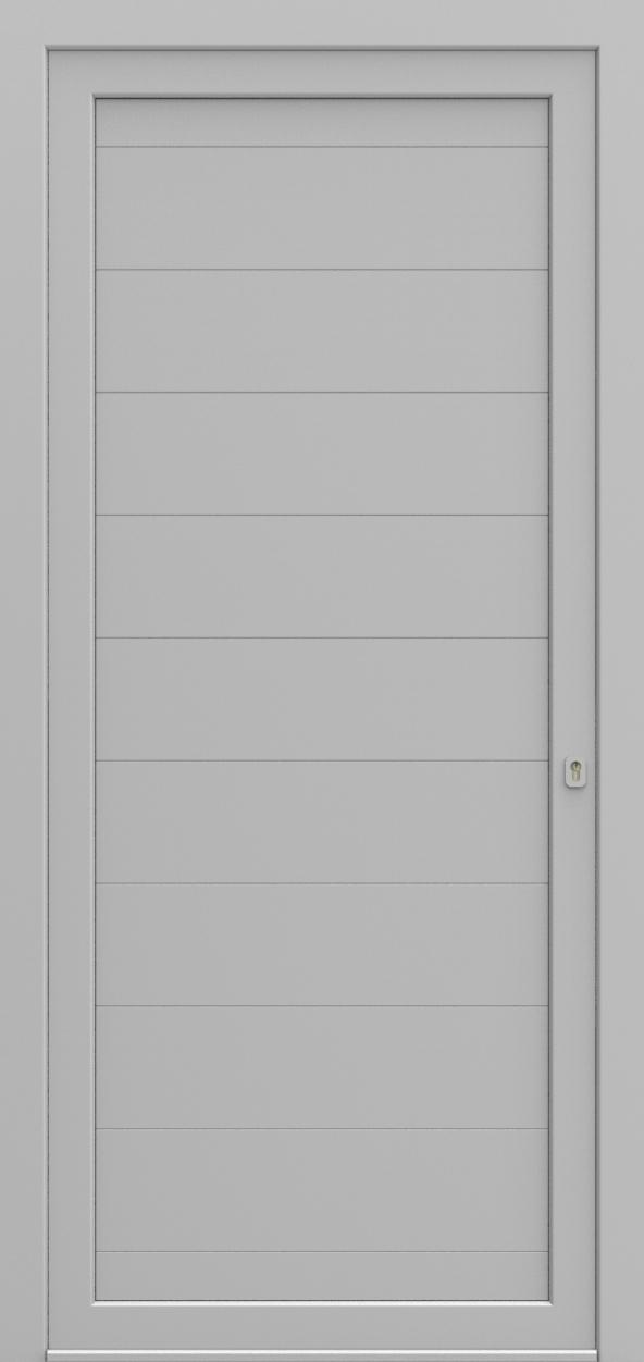 Porte d'entrée 902 AMSTERDAM de la gamme Light Design posée par les établissements CELEREAU à Roncq