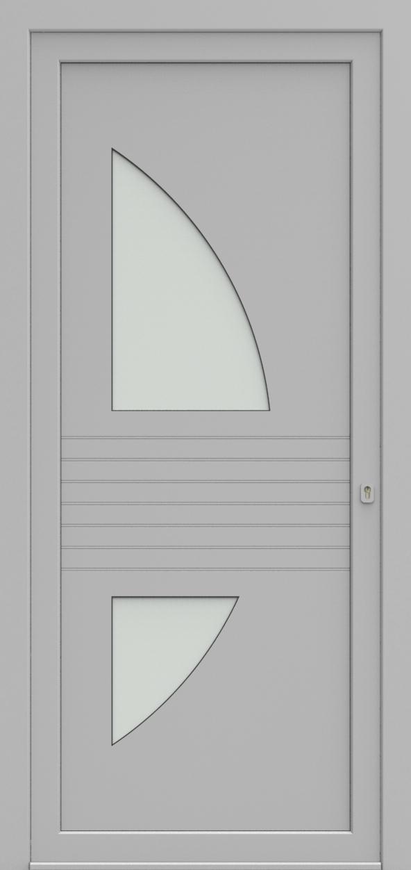 Porte d'entrée 92120 KOBE de la gamme Light Design posée par les établissements CELEREAU à Roncq