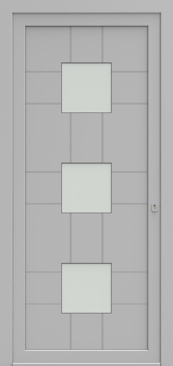 Porte d'entrée 92330 LORD de la gamme Light Design posée par les établissements CELEREAU à Roncq