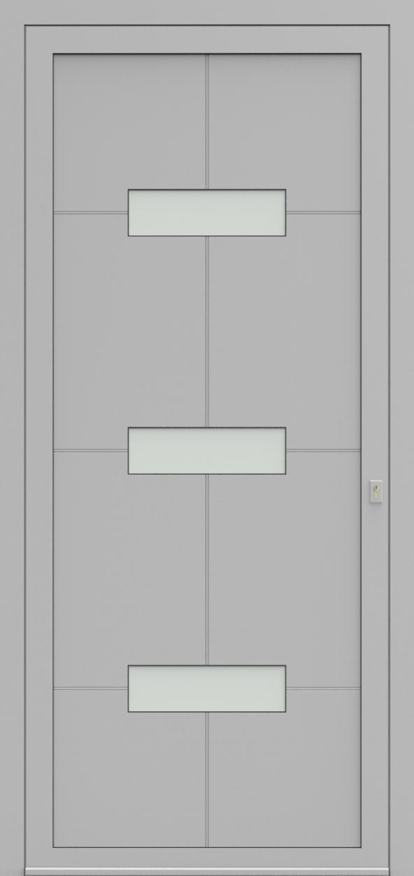 Porte d'entrée 92430 MASTER de la gamme Light Design posée par les établissements CELEREAU à Roncq