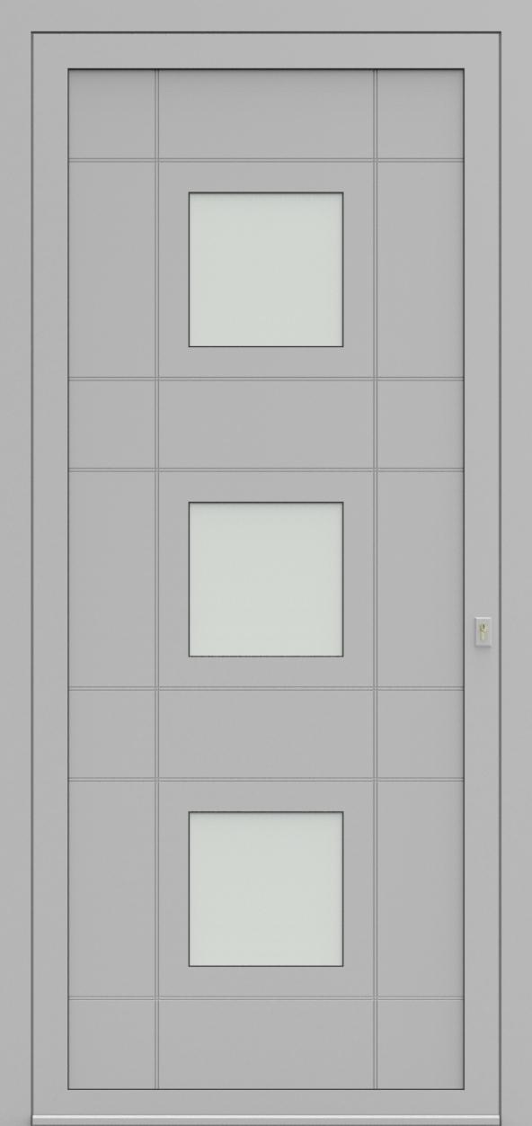 Porte d'entrée 92630 TASTE de la gamme Light Design posée par les établissements CELEREAU à Roncq