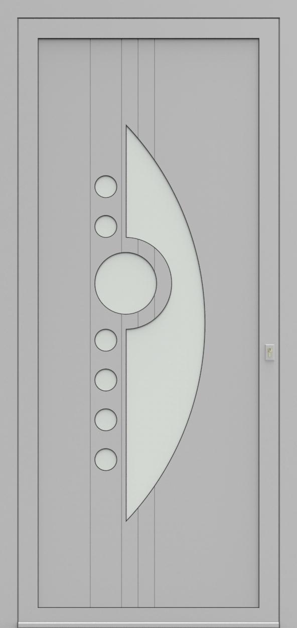 Porte d'entrée 93610 HEPRO de la gamme Light Design posée par les établissements CELEREAU à Roncq