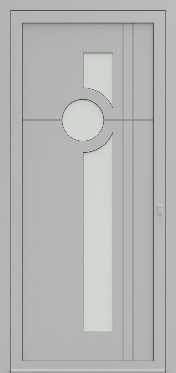 Porte d'entrée 93710 OCTAVE de la gamme Light Design posée par les établissements CELEREAU à Roncq