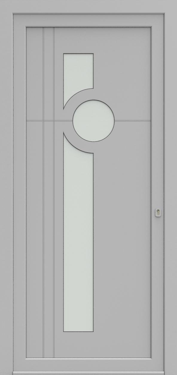 Porte d'entrée 93710S OCTAVE de la gamme Light Design posée par les établissements CELEREAU à Roncq